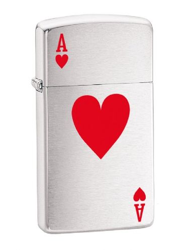Zippo Ace of Hearts Slim | Poker Play and Luck