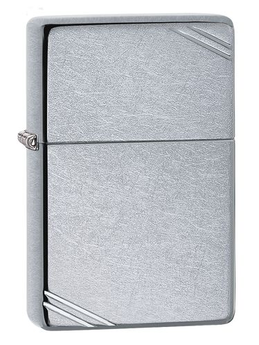 Zippo Vintage Street Chrome and Engravings | 2020 New